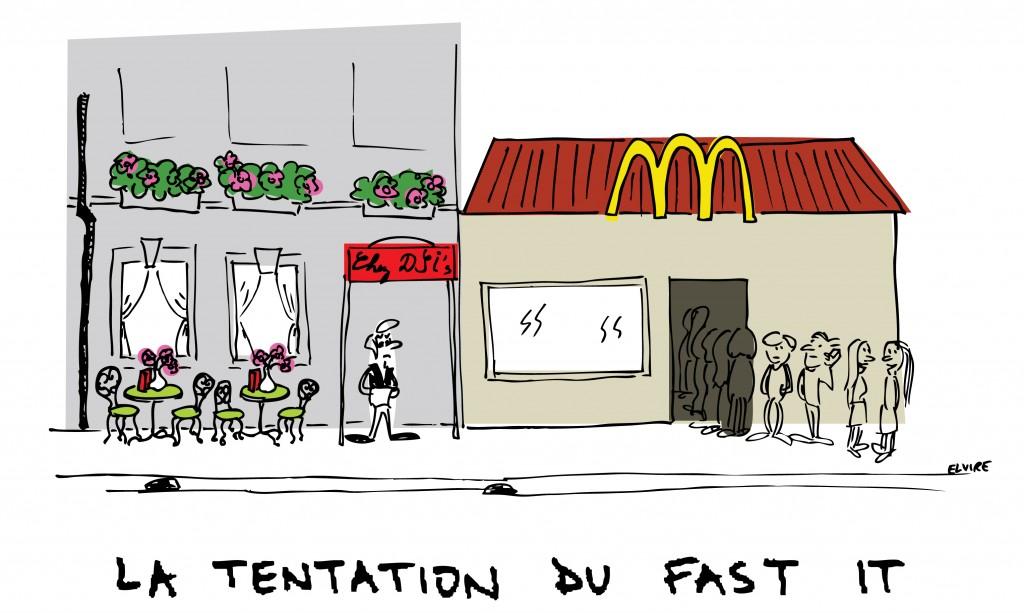 La tentation du fast-SI